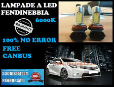 LAMPADE FENDINEBBIA H11 LED CREE RESISTENZA CANBUS 6000K AUDI A5 08 AL 14