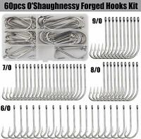 O'Shaughnessy Forged Hooks Fishooks Stainless Steel Fishing Hooks For Saltwater