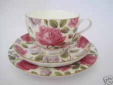 MAXWELL&WILLIAMS - TAZZA TE CON PIATTO  + PIATTO BISCOTTI - TEA ROSE