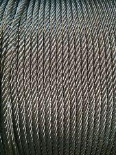 "3/8"" x 250' 7x19 Galvanized Wire Rope"