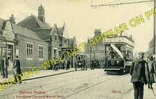 Ilford Railway Station Photo. Manor Park - Seven Kings. Great Eastern Rly. (2)
