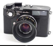 Leitz Minolta CL w/ M Rokkor 40mm F2  Mint