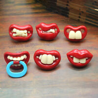 Baby Funny Pacifier Pacifiers Nipple Silicone Orthodontic Teethers Kids Accs