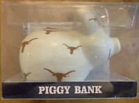 Texas University Longhorns NCAA Game Day Outfitters Piggy Bank UT Logo
