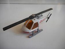 Matchbox Helicopter Fire Dept. in White/Red