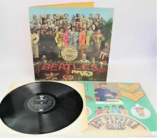 THE BEATLES 'Sgt Pepper's Lonely Hearts Club Band' Reissue LP + Insert - L26