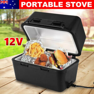 12V Portable Food Stove Oven pie Warmer Hot Plate suit Car Truck Camping Heater