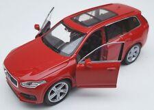 Blitz envío volvo xc 90 rojo/red Welly modelo auto 1:34-39 nuevo & OVP