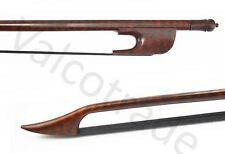 Violin Bow, Snakewood Baroque Style, Hand Made, 4/4, Black Horse Hair