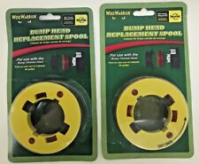 WEED WARRIOR Universal Bump Trimmer Head Replacement Spools *Lot of 2* FREE SHIP