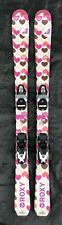 130 cm Rossignol Roxy girls skis bindings + women's 6 ski boots