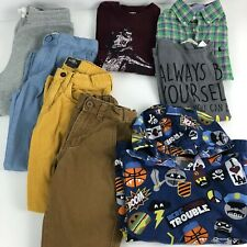 BOYS H/&M \  DENIM DEPT DESIGNER 2 PIECE SET DRESS SWEATER /& PANTS SIZE 9-10Y