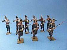 9 anciens CBG MIGNOT - Infanterie prussienne 1870 au combat - Second empire