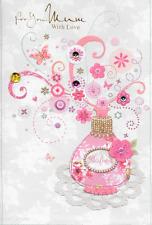 8 isabels Giardino per Voi Mamma cartolina di compleanno, Profumo, 3d fatti a mano, qualità superiore (a2)