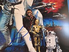 George Lucas Signed Star Wars A New Hope 12x18 Photo PSA DNA COA Autograph