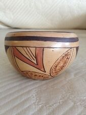 "Hopi Pottery Bowl by Charlene Collateta - Signed C.M.C. ~2.75"" by 4.5+"""