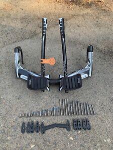 Pro Missle Evo Aero Handle Bar Set Up TT Triathlon 42mm Carbon