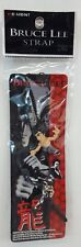 RARE Vintage Re-Ment BRUCE LEE CELL Phone Strap CHARM Mini Figure Keychain NEW