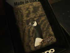 RARE Colorful Old Stock Soft Touch Realtree Canadian Goose Zippo Lighter