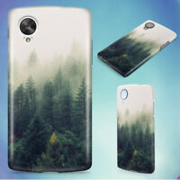 NATURE FOREST TREES FOG HARD BACK CASE COVER FOR NEXUS PHONES