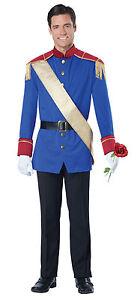 Disney Storybook Prince Charming Royal King Adult Costume
