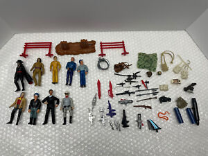80's+ VINTAGE TOY LOT VARIOUS FIGURES WEAPONS Star Wars LONE RANGER TRANSFORMER