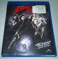 Sin City (Blu-Ray, 2008, Canada) NEW