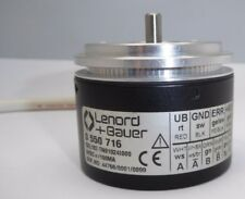 Gel107-TN01024I000 5V encoder 1024ppr Lenord Bauer NEW with 1.3m of cable