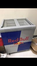 Red Bull Fridge Chest Cooler Energy Drink Refrigerator New