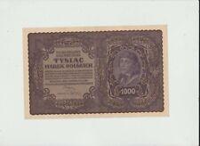 POLAND  1000  MAREK  1919