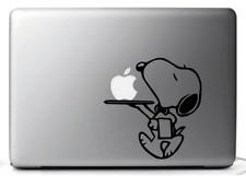 MACBOOK DECAL, STICKERS for MacBook SNOOPY, ADESIVI MAC MACBOOK 11,13, 15, 17''