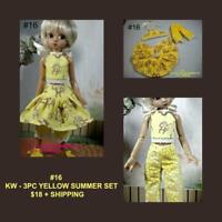 NEW Blue Flowers Lace Braces Skirt Pleated Skirt 1//6 BJD Yosd BB.SD Doll Clothes