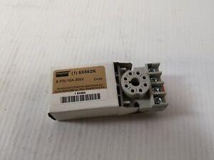Dayton 5X852N 8-Pin Relay Socket