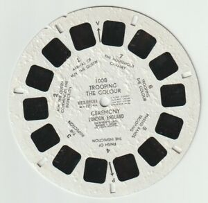 VIEWMASTER REEL: 1008 TROOPING THE COLOUR CEREMONY LONDON ENGLAND