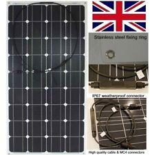120w Flexible Solar Panel PV Monocrystalline for Marine Caravan RV 12v battery