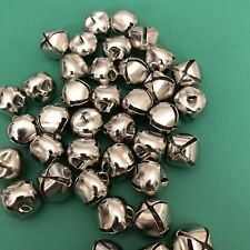 5 x 20mm Silver Coloured Craft Bells #1105