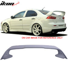 08-17 Mitsubishi Lancer Evolution 10 X Original EVO Style Trunk Spoiler - ABS