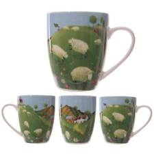 Gorgeous 'Sheep in the Countryside' Mug by Jan Pashley - Gift Boxed