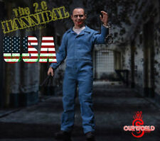 1/6 The Silence of The Lambs Hannibal Anthony Hopkins Figure 2.0 ❶USA IN STOCK❶