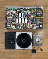 DJ Hero PS3 PlayStation 3 Bundle w/ Turntable Dongle & DJ Hero Game - Ships Fast