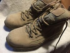 e29906692dcc Used Worn Converse Steel Toe Boots Mens size 12 wide Zipper side Work Safety