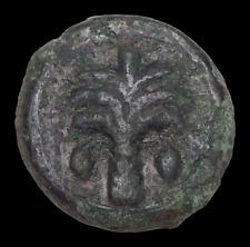 New ListingCarthage. Circa 350-320 Bc. Æ Unit, Palm tree / Horse's head