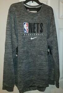 Nike NBA Brooklyn Nets On Court Performance Pullover Men's  XL-TALL AV1377-032