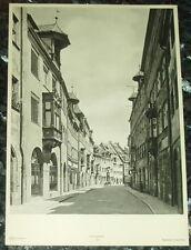 Nürnberg Tucherstraße: alte Tafel Fotographie Städteansicht Bayern Franken