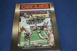 Godlike: Superhero Roleplaying in a World on Fire 1936-1946 Hardcover – 1 Mar 2