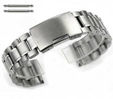 Stainless Steel Bracelet Silver 19mm 21mm 23mm Replacement Watch Band Strap 5015