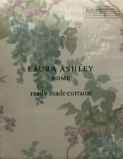 "LAURA ASHLEY Wisteria Duck Egg Pistachio Ready Made Curtains W88"" L90"" RRP £250"