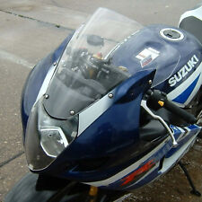 Suzuki GSXR1000 K3-4 Tall DOUBLE BUBBLE Clear Race Screen . New, UK made