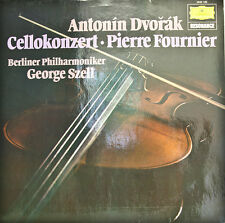 "Dvorak Cello Concerto Pierre Fournier Berliner Philh. George Szell 12"" LP (d472)"