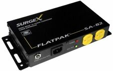 SurgeX SA-82 FlatPak Surge Protector & Power Conditioner, Flat Panel Monitors